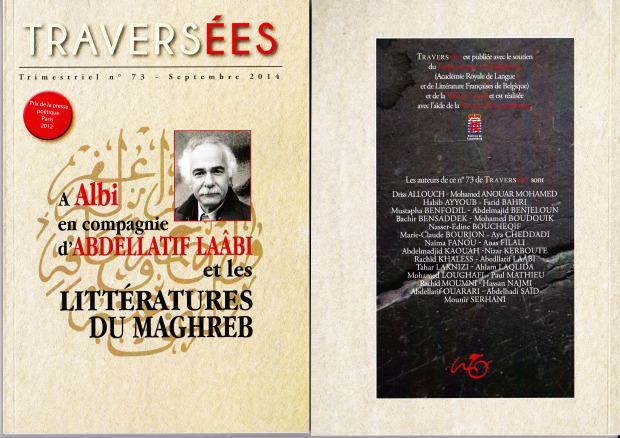 Revue Traversées- Abdellatif Laâbi et les littératures du Maghreb