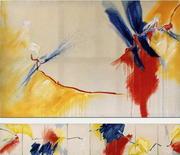 Peintures HAIKUS 1995 de Corine Sylvia CONGIU