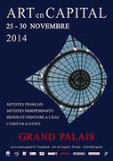 Marie-France BUSSET expose à L'édition 2014 du Salon ART en CAPITAL au GRAND PALAIS