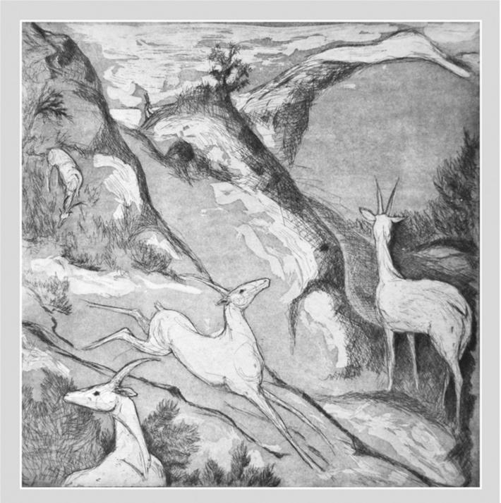 Long Ago in a Land Far Away - etching & aquatint