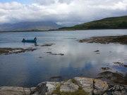 Canot sur l'Ile de Sky