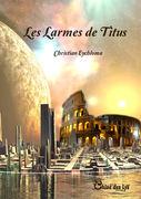 """""""Les larmes de Titus"""" : première de couverture"""