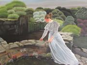 Jeune fille à la fontaine de Kerdalo