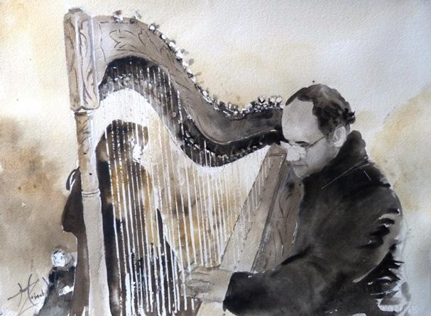 Harpiste des rues - Copie - Copie