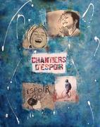 Série Violences faite aux femmes tableau CHANTIERS D'ESPOIR  100x80 technique mixte.