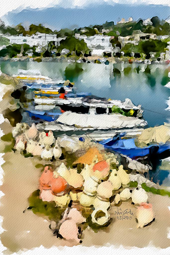 Le port punique de la banlieu nord de Tunis