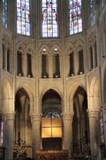 PKinard acryl sur toile, 3m30x2m15,2015. Oro, St Michel et Gudule, Bruxelles.