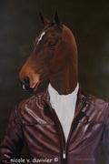 A Gentleman Horse- nicole v.duvivier- copyright