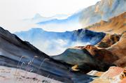 Les Pyrénées à 2500 m d'altitude