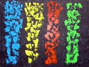 308  Paysage champêtre - Acrylique sur toile - 116x89 cm