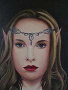 Éléä, jeune Elfe du royaume de Délénia