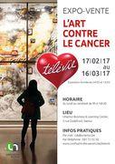 L'ART CONTRE LE CANCER : l'expo-vente sera ouverte les samedis 4 et 11 mars entre 13h00 et 17h00 en plus