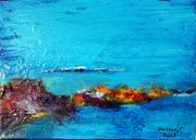 Calanque 38 X 55 Huile