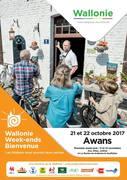 WEEK-END WALLONIE BIENVENUE 21 et 22 OCTOBRE 2017
