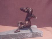 sculpture  ;la baigneuse