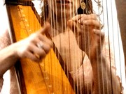 Françoise Marquet Harpiste Photo Antoine Burgos