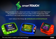 smartTouch readers by Embed