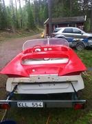 Okänd sportbåt
