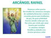 ARCÁNGEL RAPHAEL EL RAPHA DE LA CREACIÓN