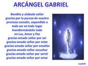 ARCÁNGEL GABRIEL EL ARCÁNGEL ALEGRE