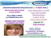 SEMINARIO SANADORES BARRANQUILLA