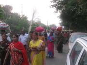Towards Sangam ghat 2