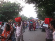 Towards Sangam ghat