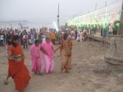Sangam (Arail) ghat