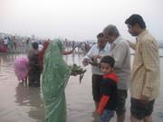 Offering Sandhya arghya 2