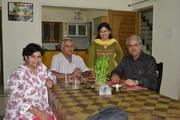 राजेश कुमारीजी, श्री वीरेन्द्रजी, मैं और सौरभजी