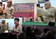 सच का परचम महान गांधीवादी आदरणीय श्री नारायण भाई देसाई के हांथों में २३ फरवरी २०१४