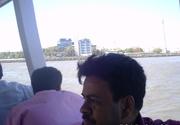 Me in Gate way of India Mumbai ,During going to Aliphanta Cave