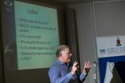 Prof Pierrde de Villiers, CEO of Open Journals Publishing