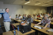 Attendees of the Open Access event