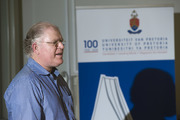Prof Pierre de Villiers addresses UP researchers on Open Access publishing demystified.