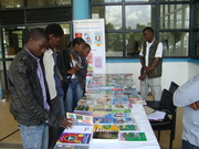 Publisher displays books in the Open Access Week exhibition