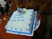 UoN Open Access Week 2012 cake
