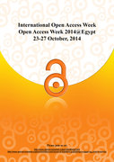 Open Access Week 2014 @Egypt