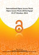 Open Access Week 2014 in Egypt