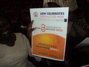 University of Education, Winneba OA Week 2013 Celebration