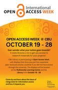 OA Week 2015 at CBU