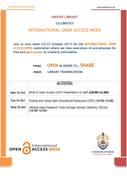 University of Venda Open Access Week Programme