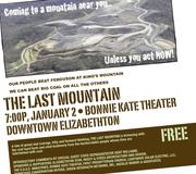 Last Mountain flier - Jan. 2, 2012