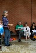 Cimate vigil on International Day of Peace 9/21/14