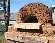 Cob oven @ First United Methodist Johnson City