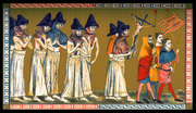 Flagellants in the Netherlands during the Black Death, 1349