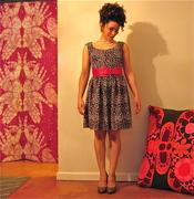 the not so black dress