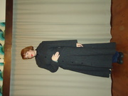 Before - 20 year old coat