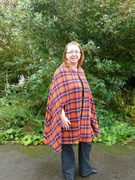 "The ""picnic camoflage cape"""