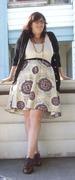 Dregs of Summer Circle Skirt